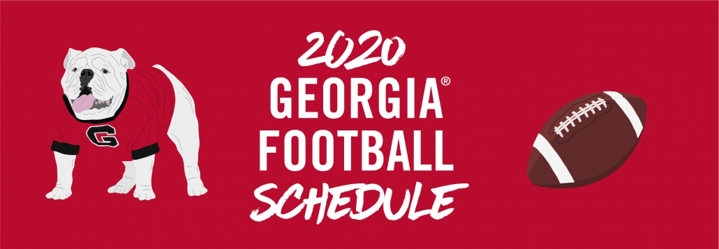 Previewing The New 2020 Uga Football Schedule Uga Alumni Association