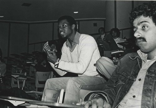 1970s: Students in class