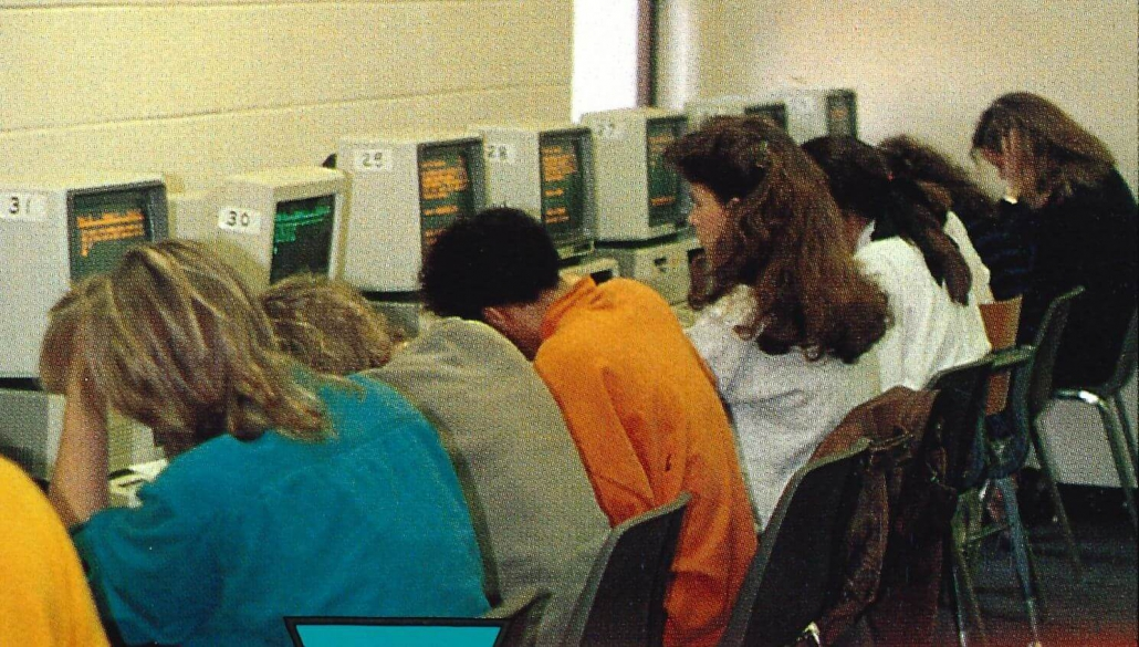 1980s computer lab