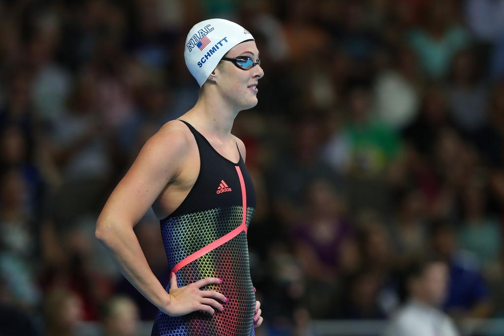 Former UGA swimmer Allison Schmitt