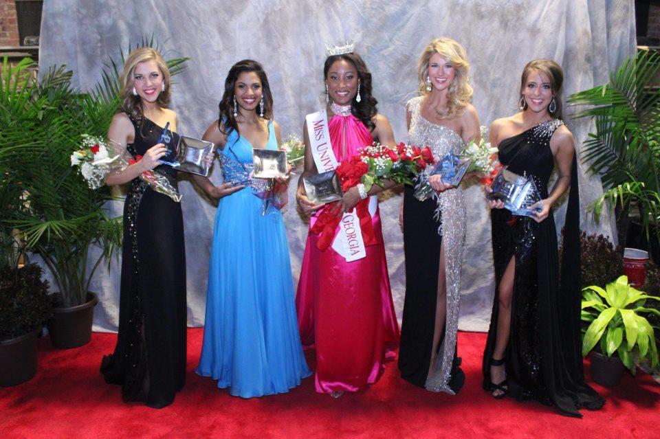 Jasmin Severino competing in Miss UGA