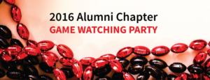 2106 alumni chapter game watching party
