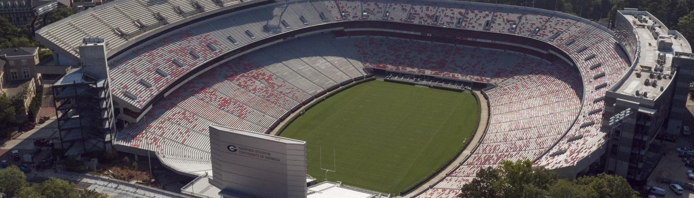 UGA Sanford Stadium Aerial