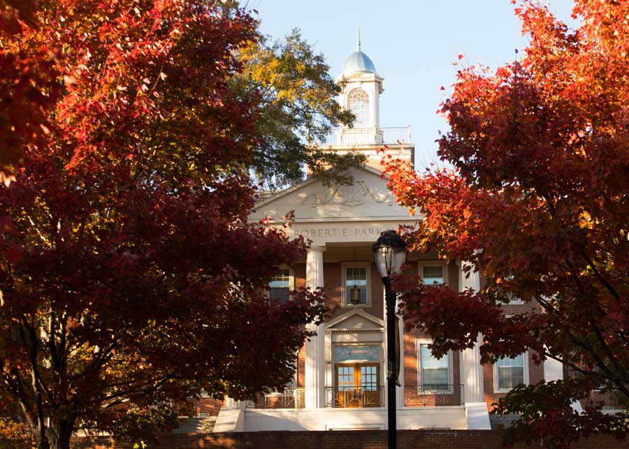 UGA Campus in Fall