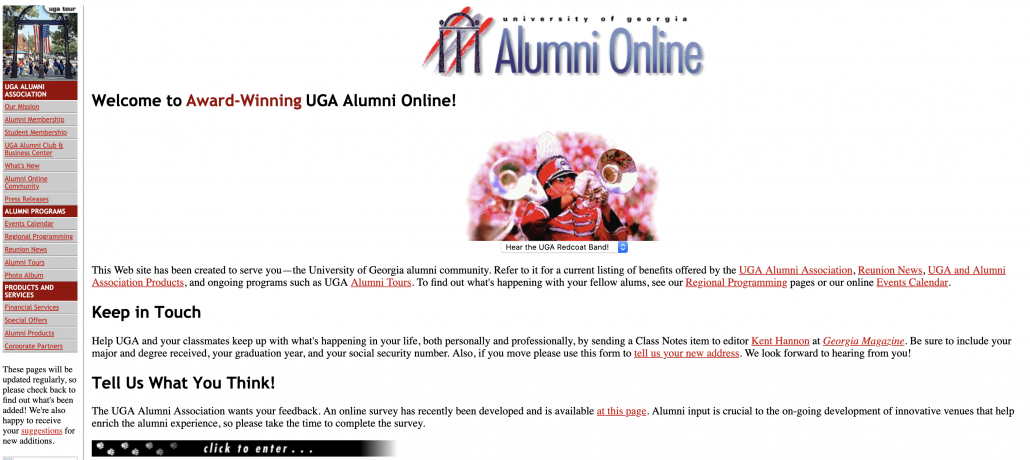 UGA Alumni Association - Feb. 2002