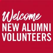 welcome new alumni volunteers header