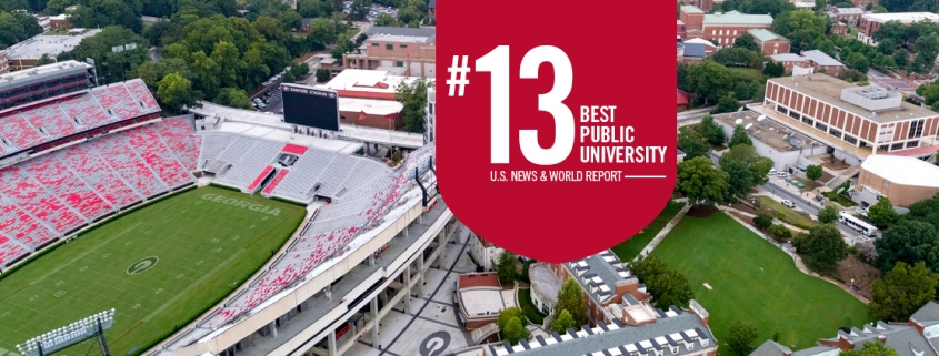 US News and World Report Rankings for UGA