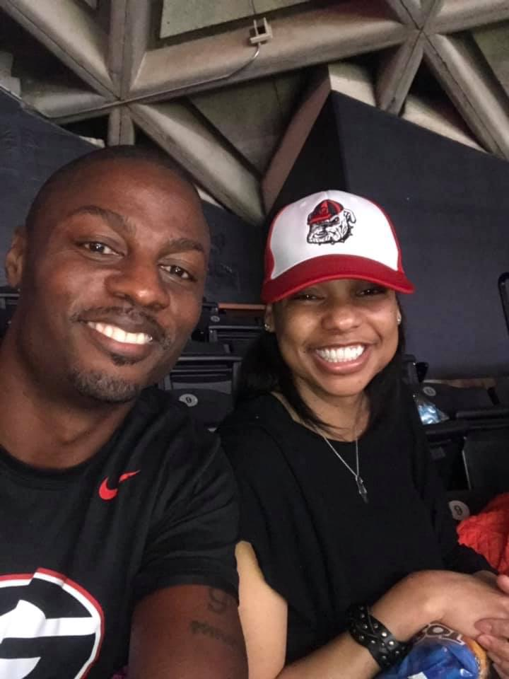 Candice Donaldson Edwards and Terrence Edwards