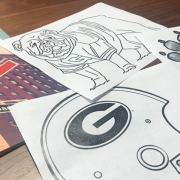 UGA Coloring Book PAges