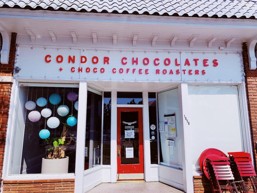 Condor Chocolates store front
