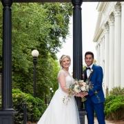 Caitlin and Thomas Conn at Arch