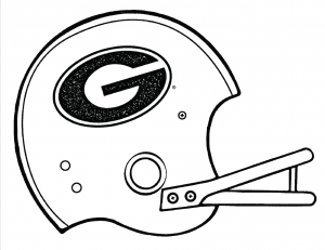 Football Helmet Coloring Pages Preschool Denver Broncos - Free ... | 231x300