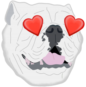 Heart Eyes Uga Emoji