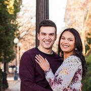 Jasmin Severino Hernandez and her husband