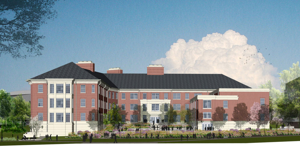 Rendering of the Science Learning Center