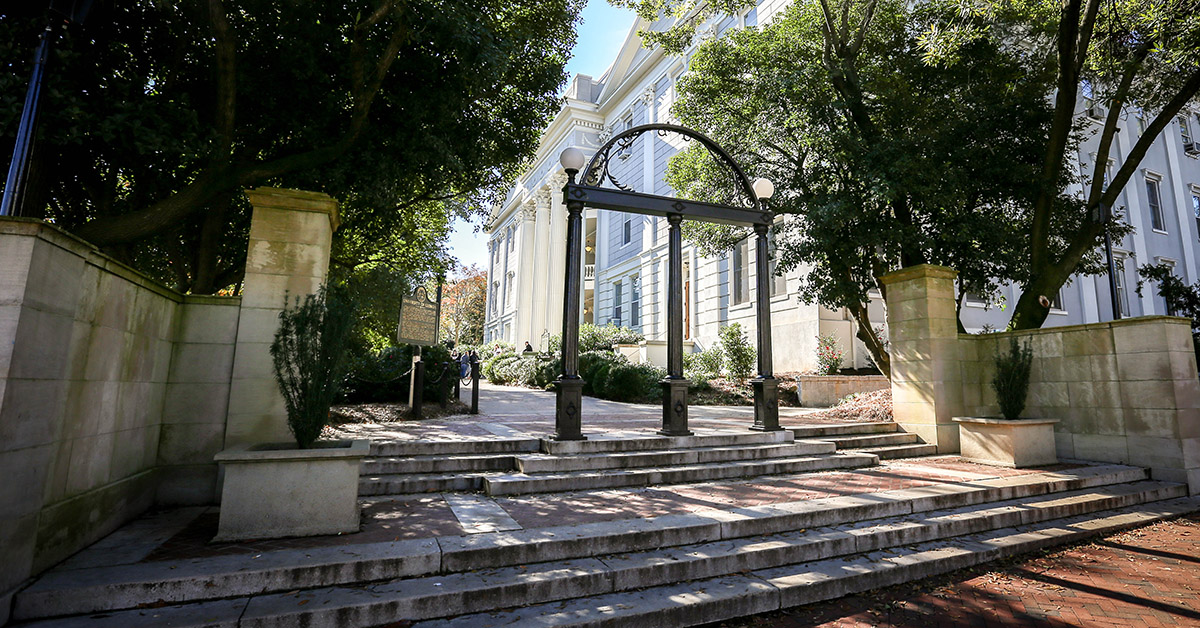 PHOTO: The famous and historic University of Georgia Arch, Athens, Georgia | UGA.edu