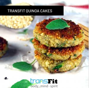 Transfit Quinoa Cakes