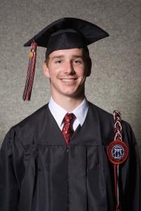 Andrew McKown's UGA graduation photo, 2007