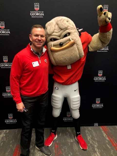Brian Dill and Hairy Dawg