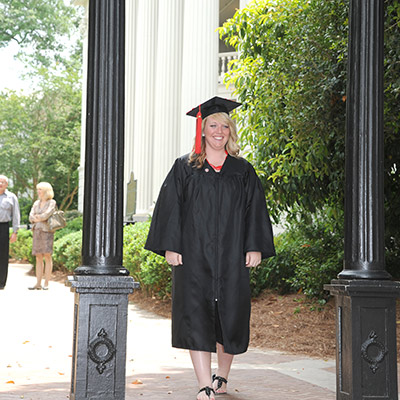 Help a first-generation collegian pass through the Arch.