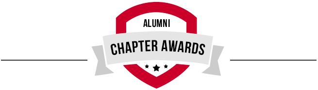 9246e350505 UGA Alumni Association. Alumni Chapter Awards logo