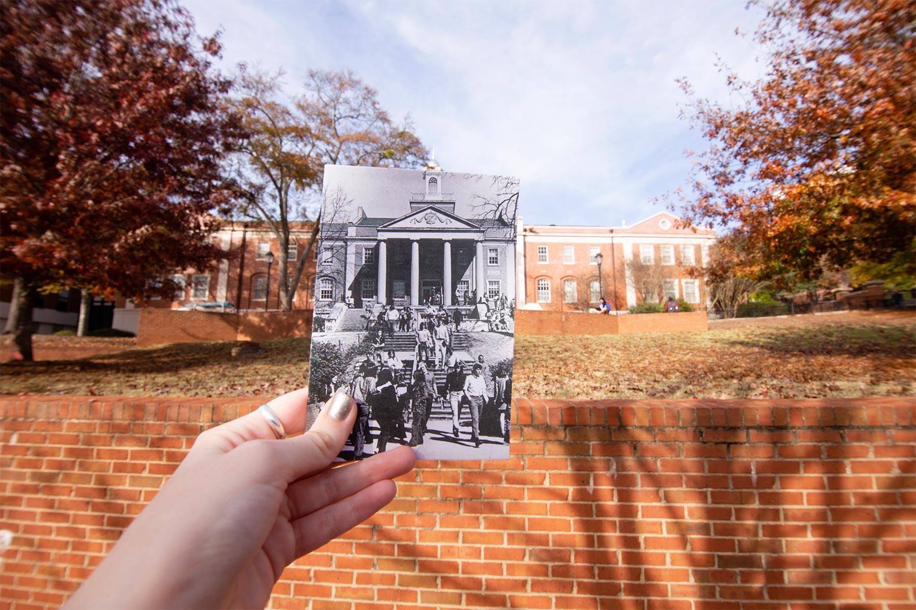 Park Hall photo overlay