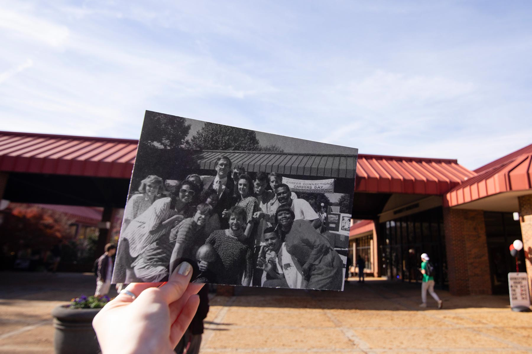 Tate Center photo overlay