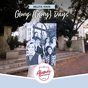 Relive your glory (glory) days