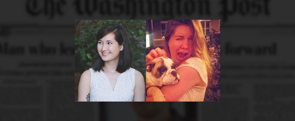 Interview with The Washington Post's Alex Laughlin (AB '14) + Julia Carpenter (ABJ '13, AB '13)