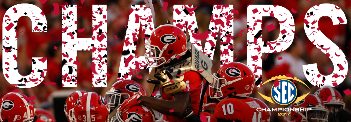 Georgia Bulldogs 2017 Sec Champions >> The Dawgs are invading Pasadena! - UGA Alumni Association