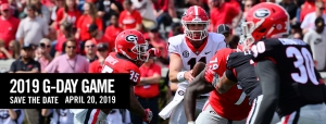 2019 G-Day game at UGA. Go Dawgs!