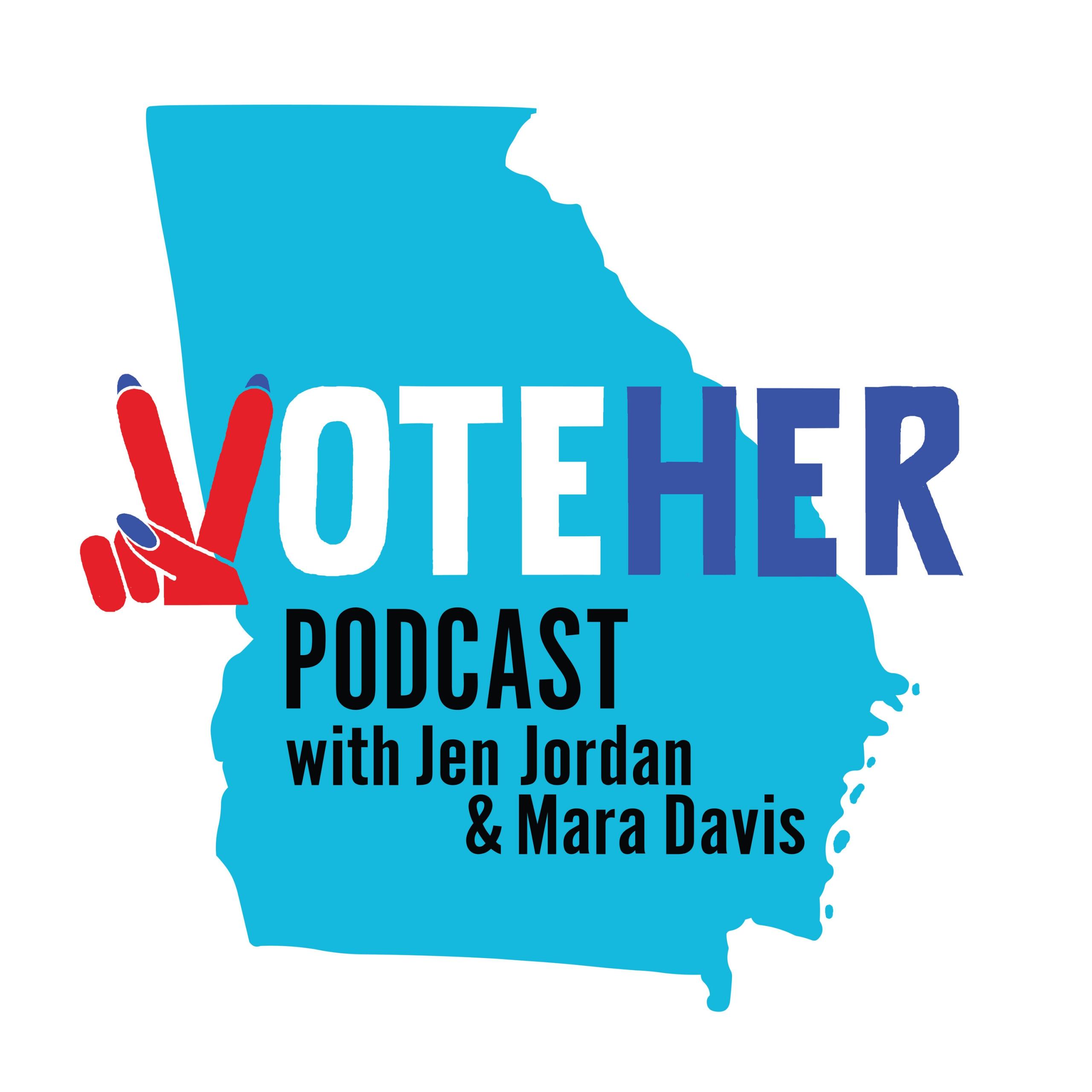 Vote Her Podcast logo