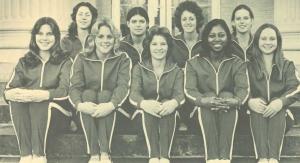 Jackie Mattison gymnastics team 1976