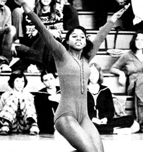 Jackie Mattison performing 1975