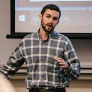 Jake Goodman Advises Students