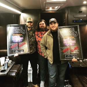 Ray Fulcher and Luke Combs - Tour 2017