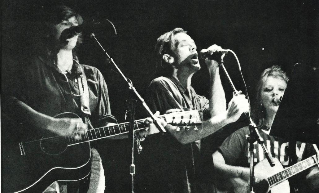 R.E.M. performing 1989
