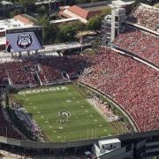 Sanford Stadium Game Day Aerial