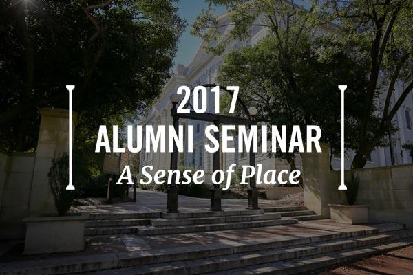 2017 Alumni Seminar