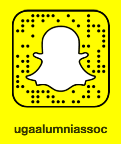 Follow the UGA Alumni Association on Snapchat