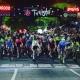 Twilight Criterium racers start their laps around downtown Athens.