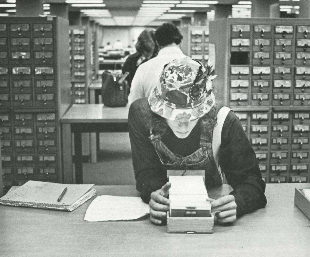 UGA library 1980