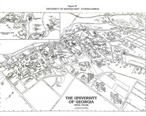 UGA Map 1986